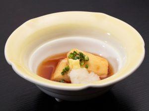 長芋の揚げ煮